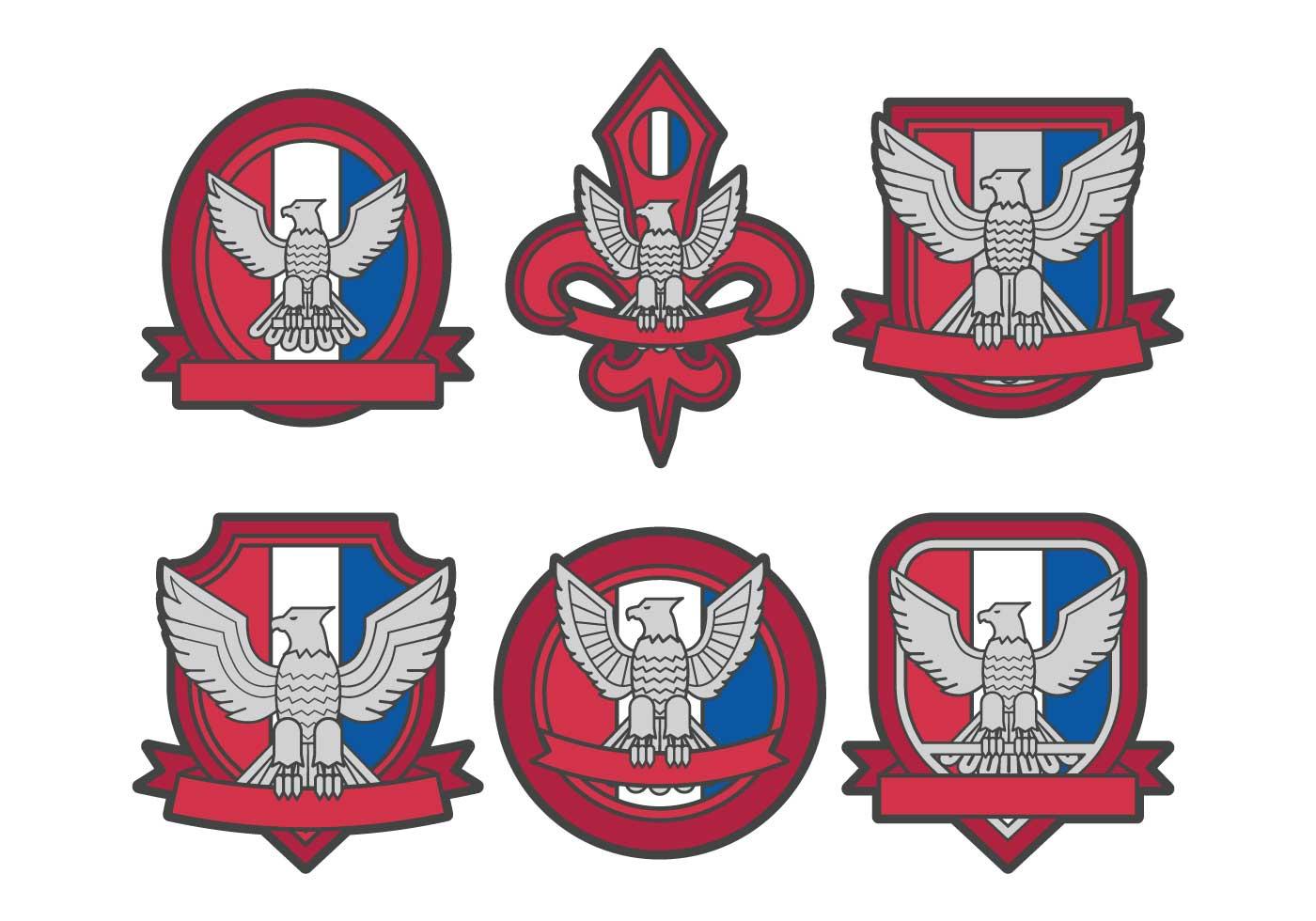 Eagle scout logo vector