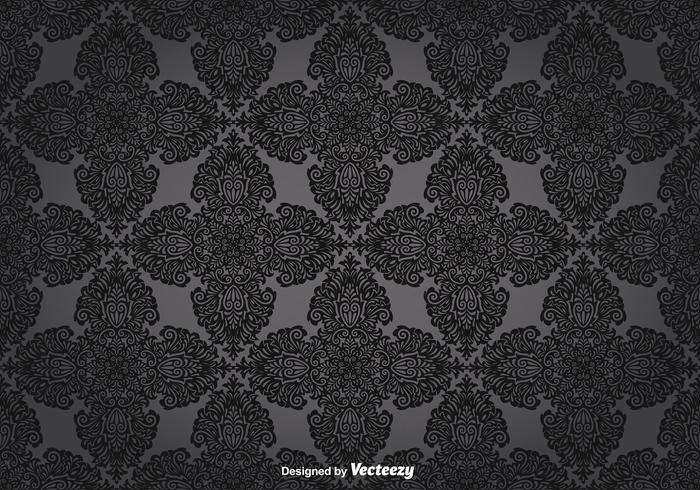 Vector Vintage Style Seamless Pattern
