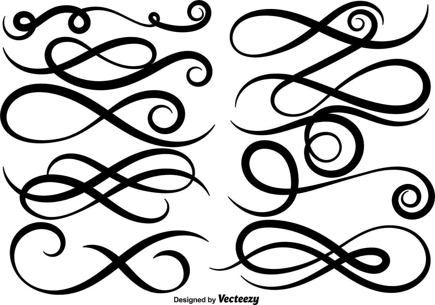 swash free vector art  19051 free downloads Vector Underline Swoosh Vector Swirl