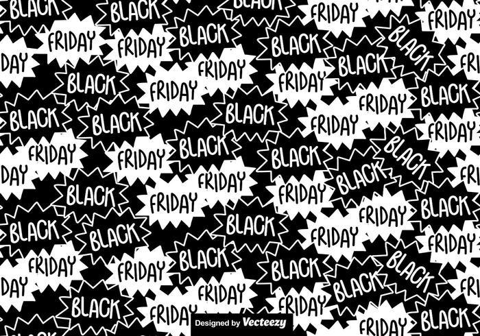 Black Friday Seamless Pattern