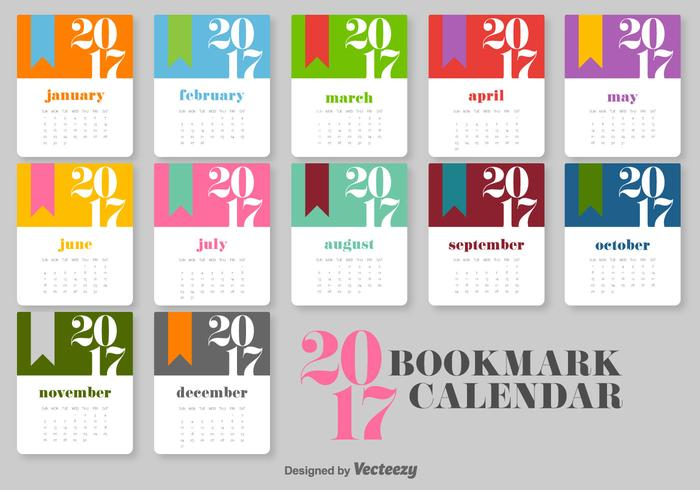 Graphic Design Calendar : Calendar vector template download free art