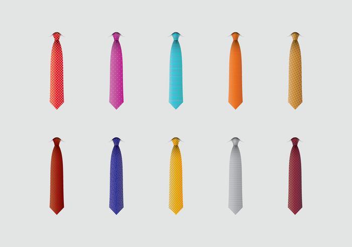 Ensemble d'icônes Cravat