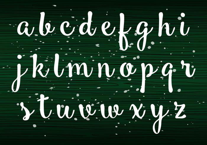 Handschrift Kleinbuchstaben