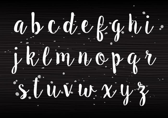 Handwriting Lowercase