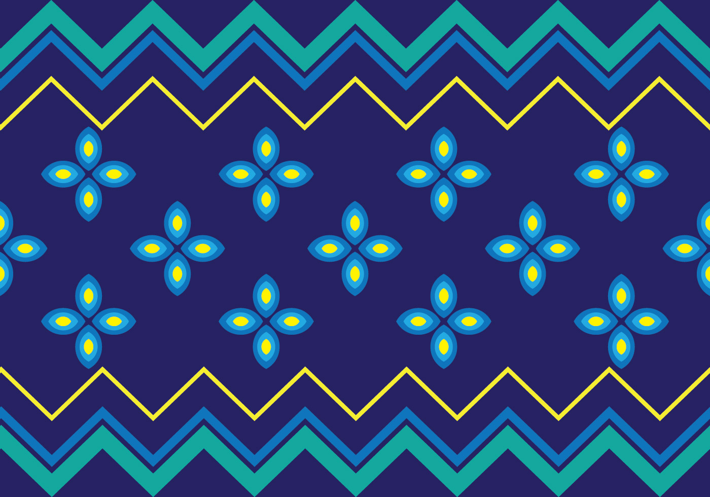 Traditional Songket - Download Free Vector Art, Stock