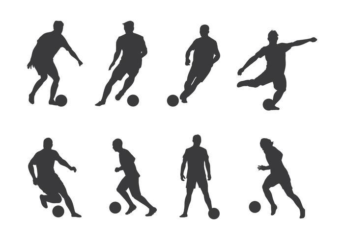Fussballspieler Vektoren Download Kostenlos Vector Clipart