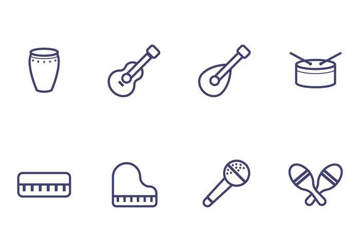 Icono del instrumento de música