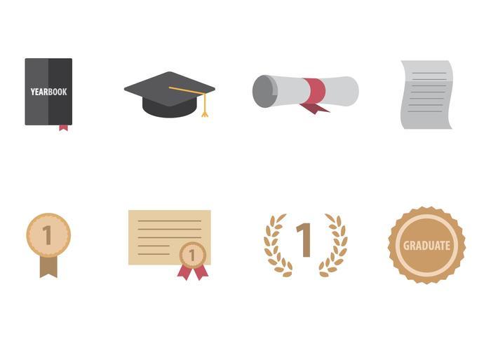 Icône de graduation