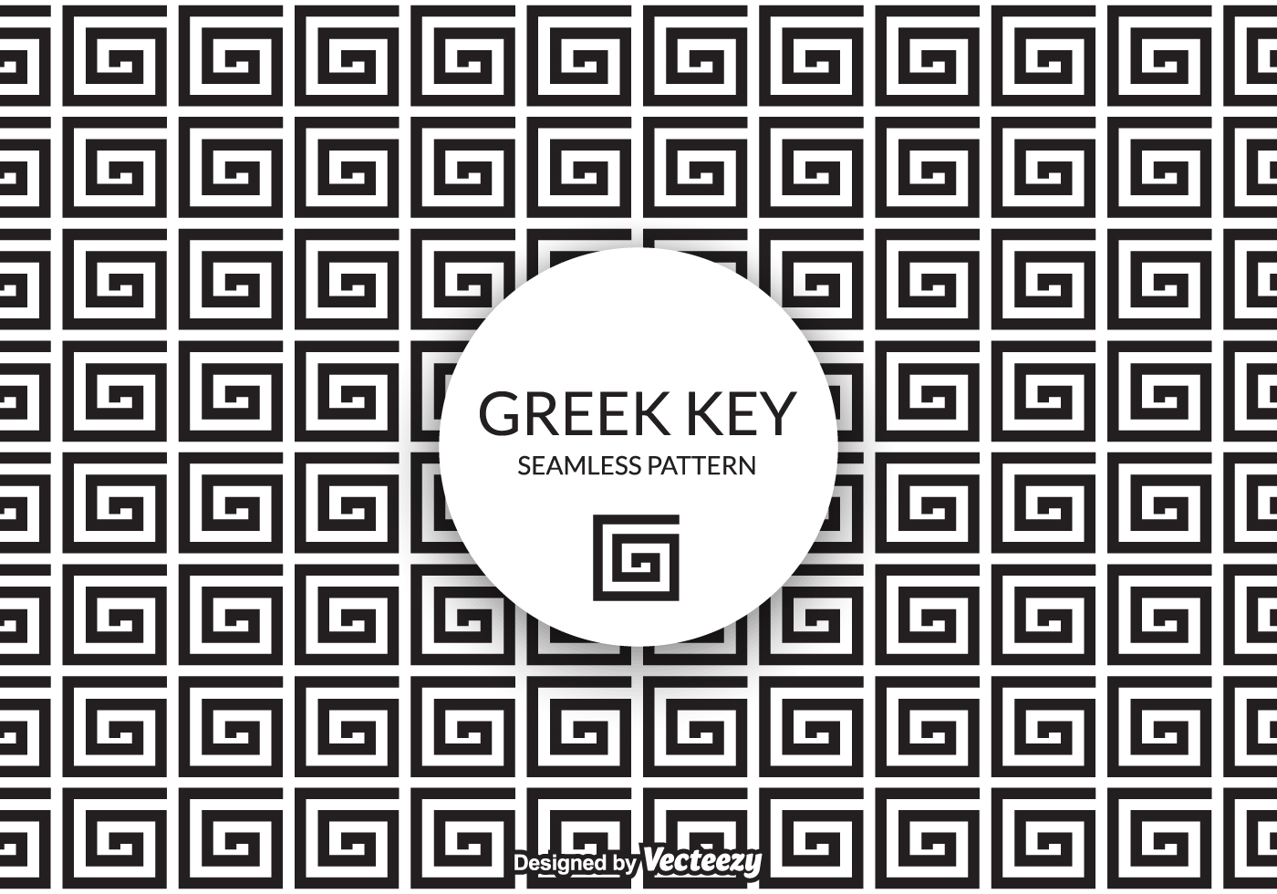 Free Vector Greek Key Background - Download Free Vector ...