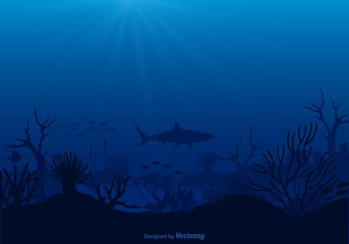 Vector Free Seabed Illustration