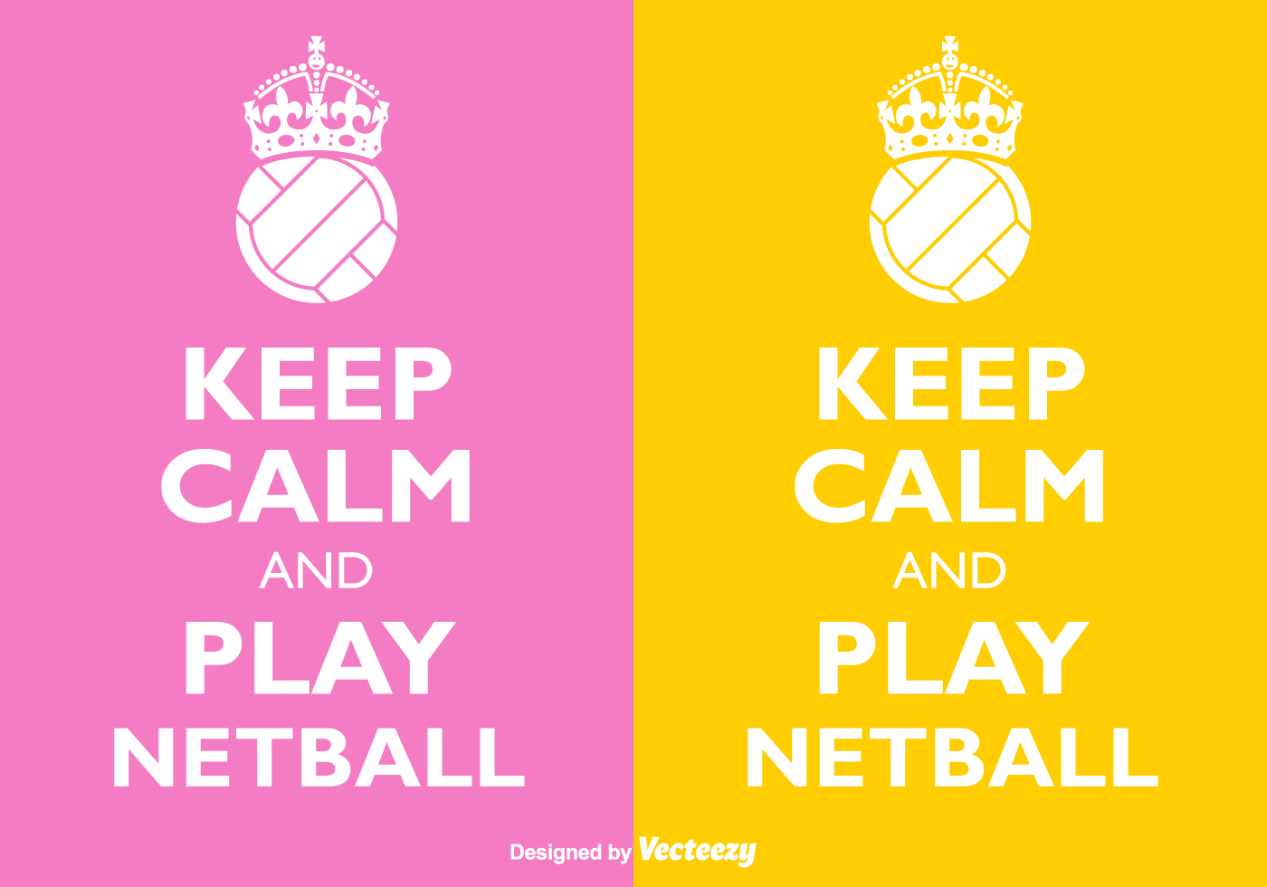 Vector Keep Calm And Play Netball - Download Free Vector Art, Stock ...