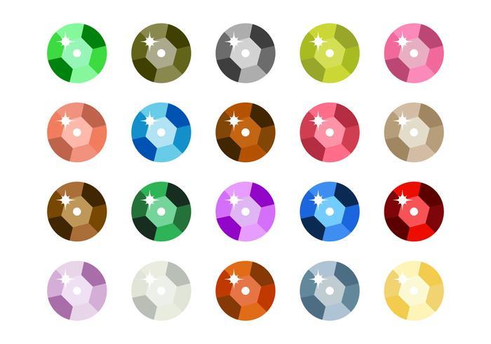 Free Sequin Icon Vektor