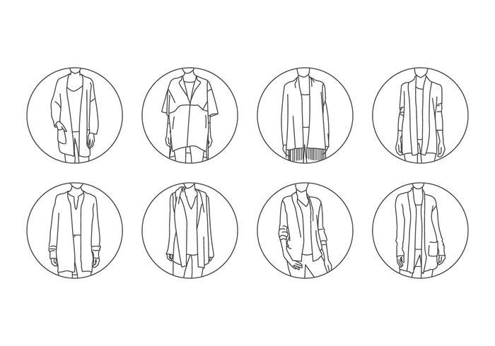 Libre Cachemira Moda Ilustración Vectorial vector