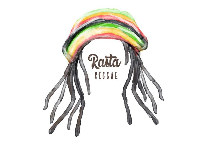 Free Dreads Hat Aquarelle Vector
