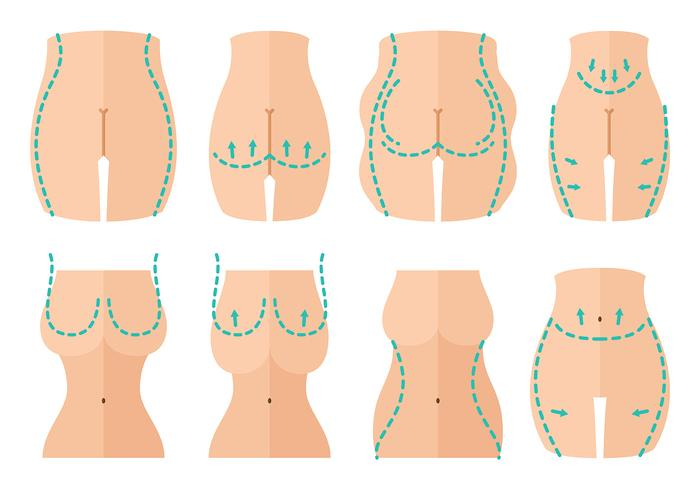 Free Plastic Surgery Icons Vector