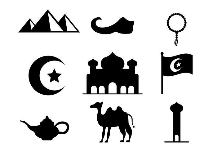 Freie arabische Nächte Vektor