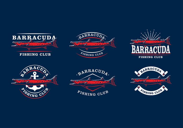 Barracuda Emblem Gratis Vector