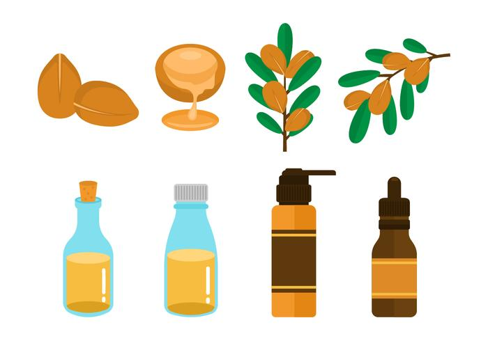 Free Argan Oil Vector
