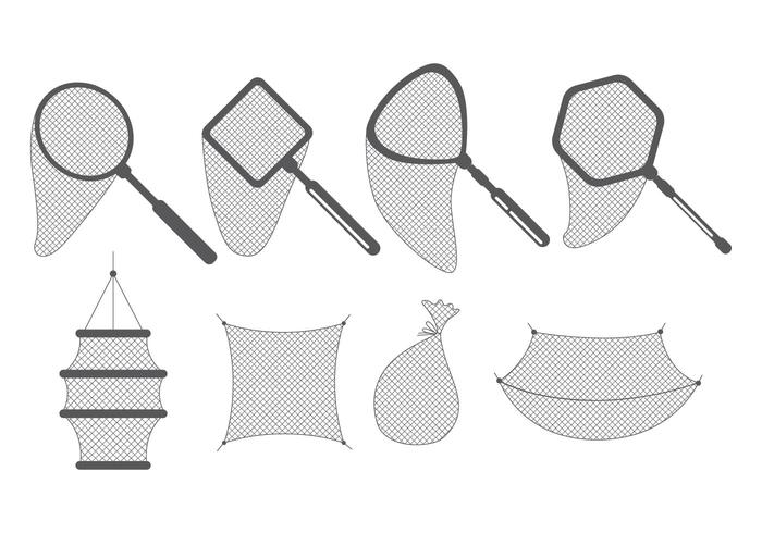Fishing Net Icons
