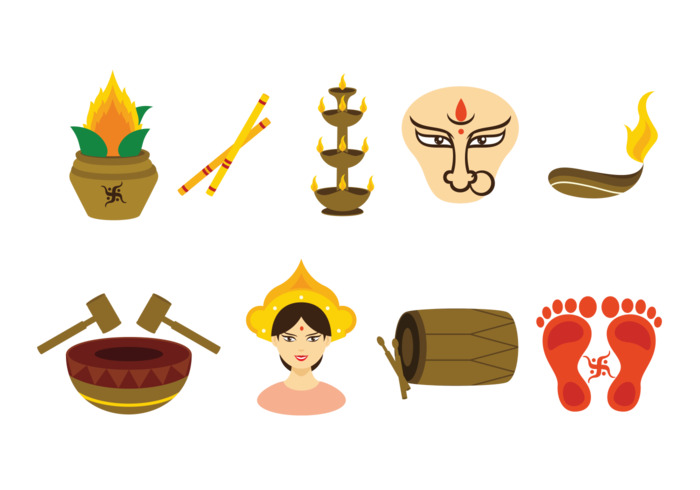 Navratri Vector Icons