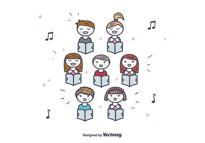 Choir Vector