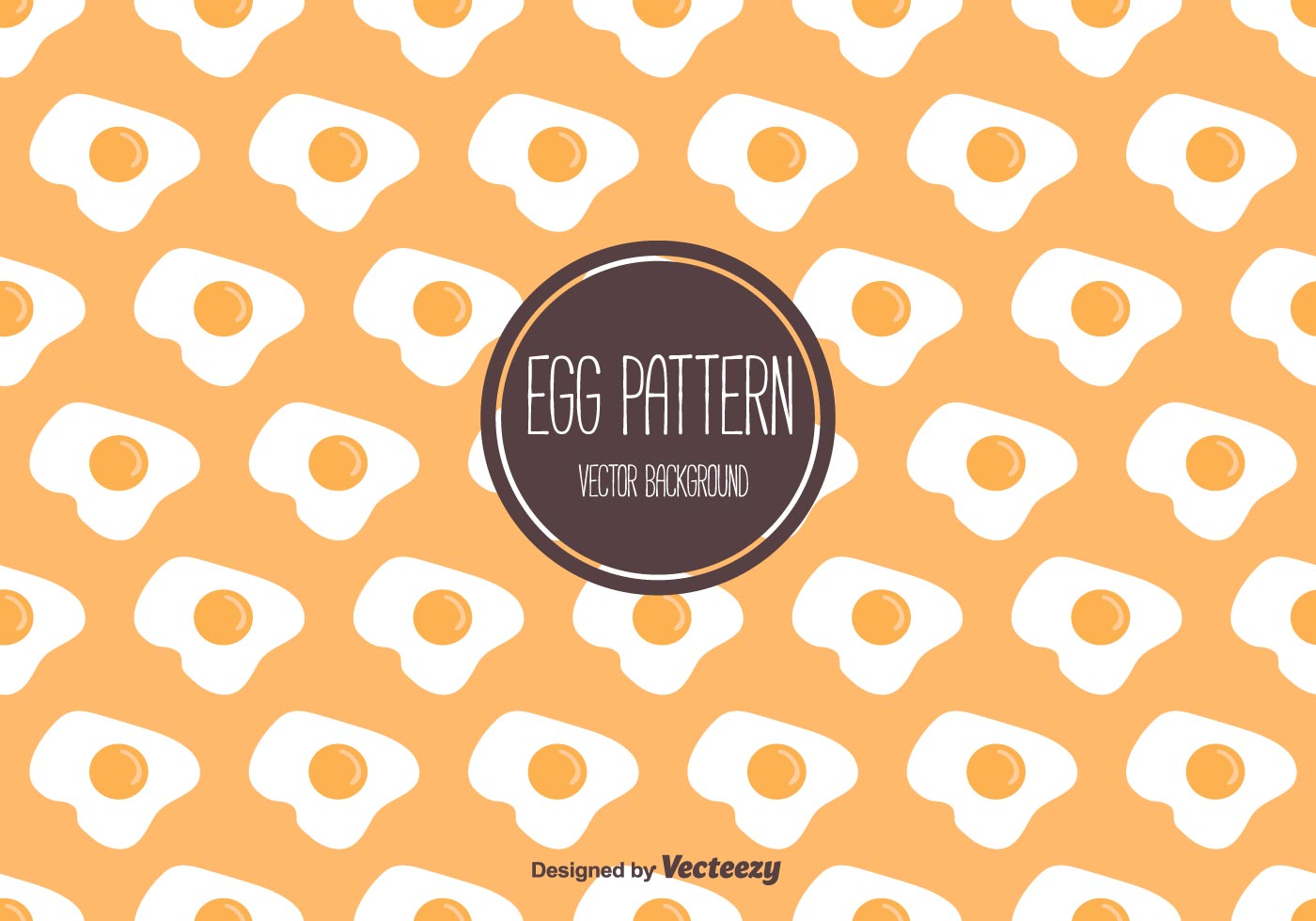 Egg Pattern Free Vector Art