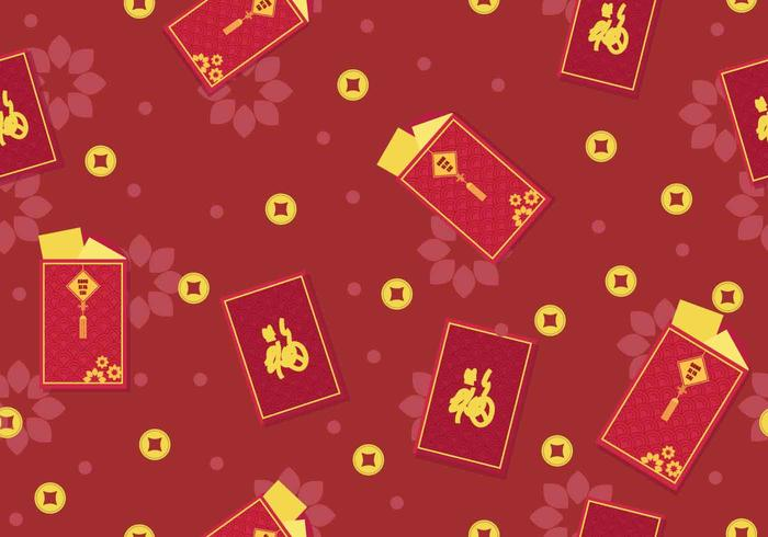 Red Chineese New Year Packet Design
