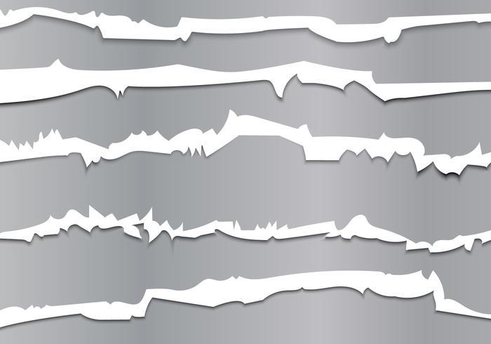 Metallic Tracks Through Vector Illustration