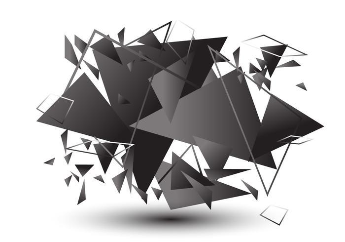 Vector Broken Glass Effect