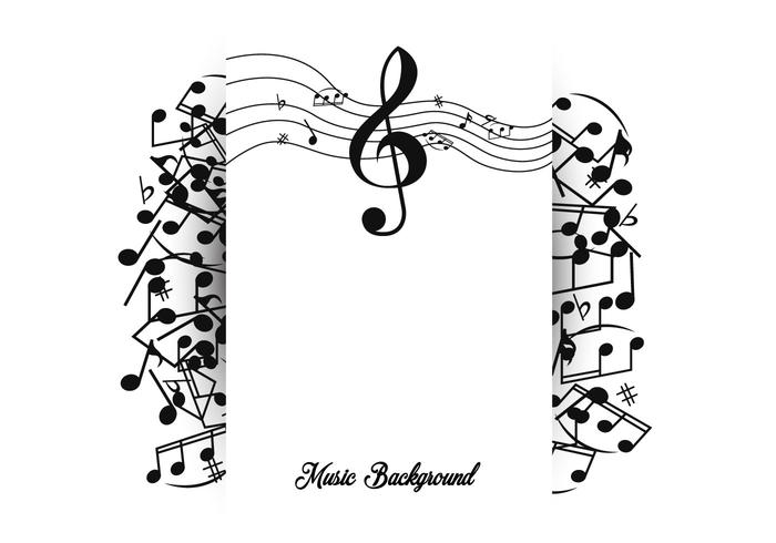 Note Of Music Background Template Download Free Vectors Clipart Graphics Vector Art