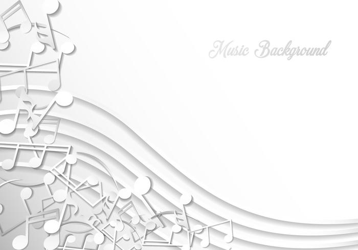 Note Of Music Background Template