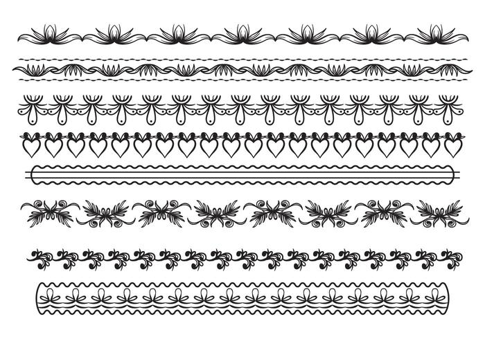 Free Lace Trim Vector