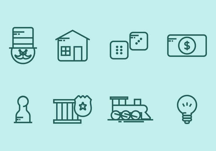 Monopoly Icon Set