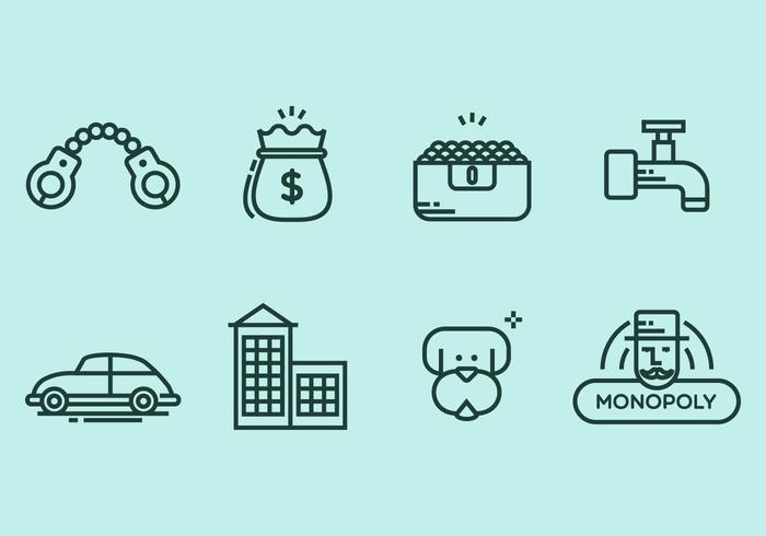 Monopoly Icon Set