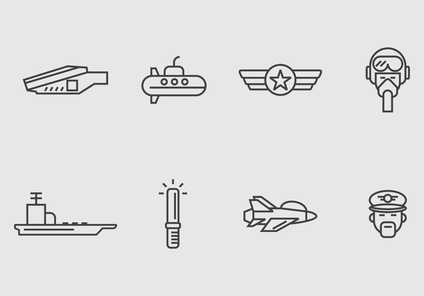 Aircraft Carrier Icon - Download Free Vectors, Clipart ...