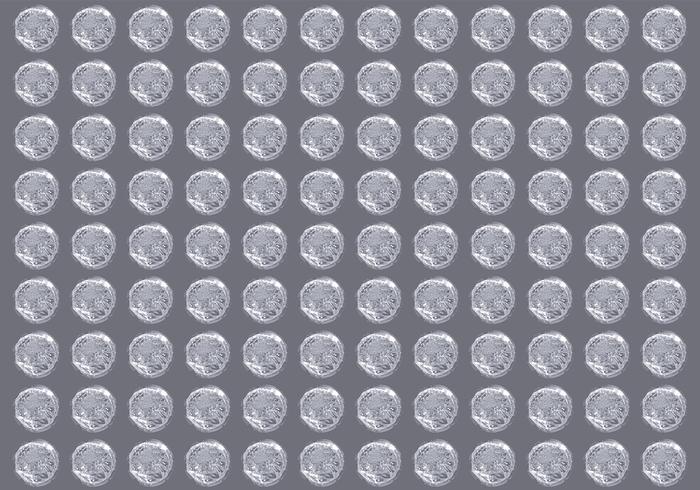 Envoltura de burbujas Vetor vector