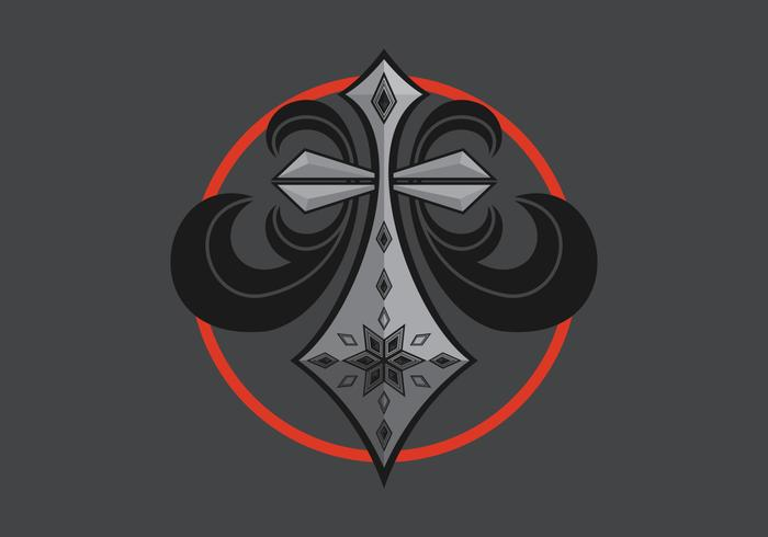 Affliction Logo Illustratie vector