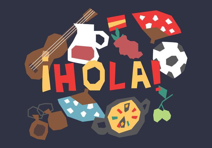 Roliga spanska element