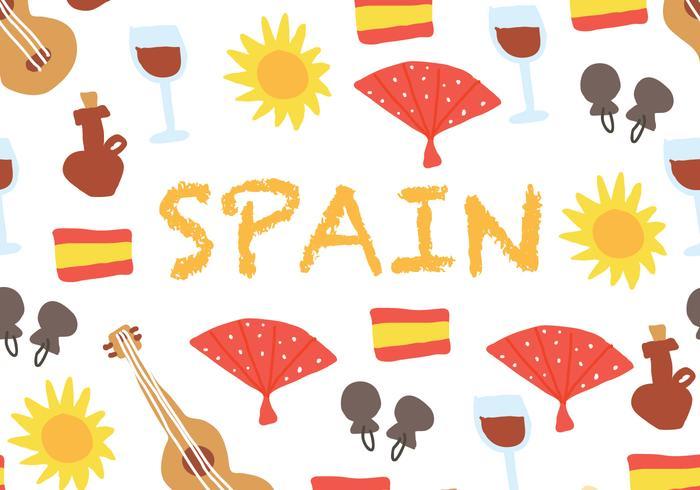 Spanischer Hintergrund