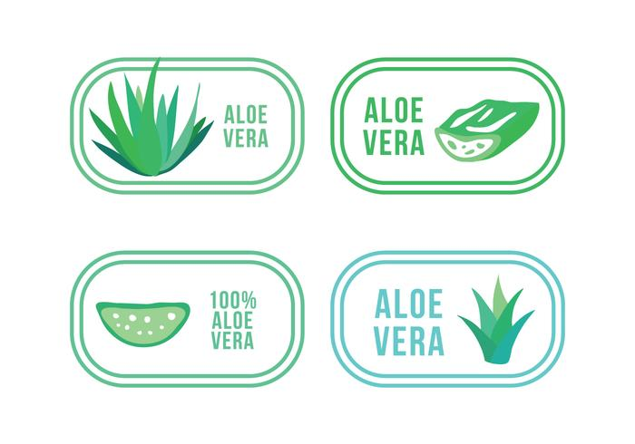 Set of Aloe and Maguey Logos