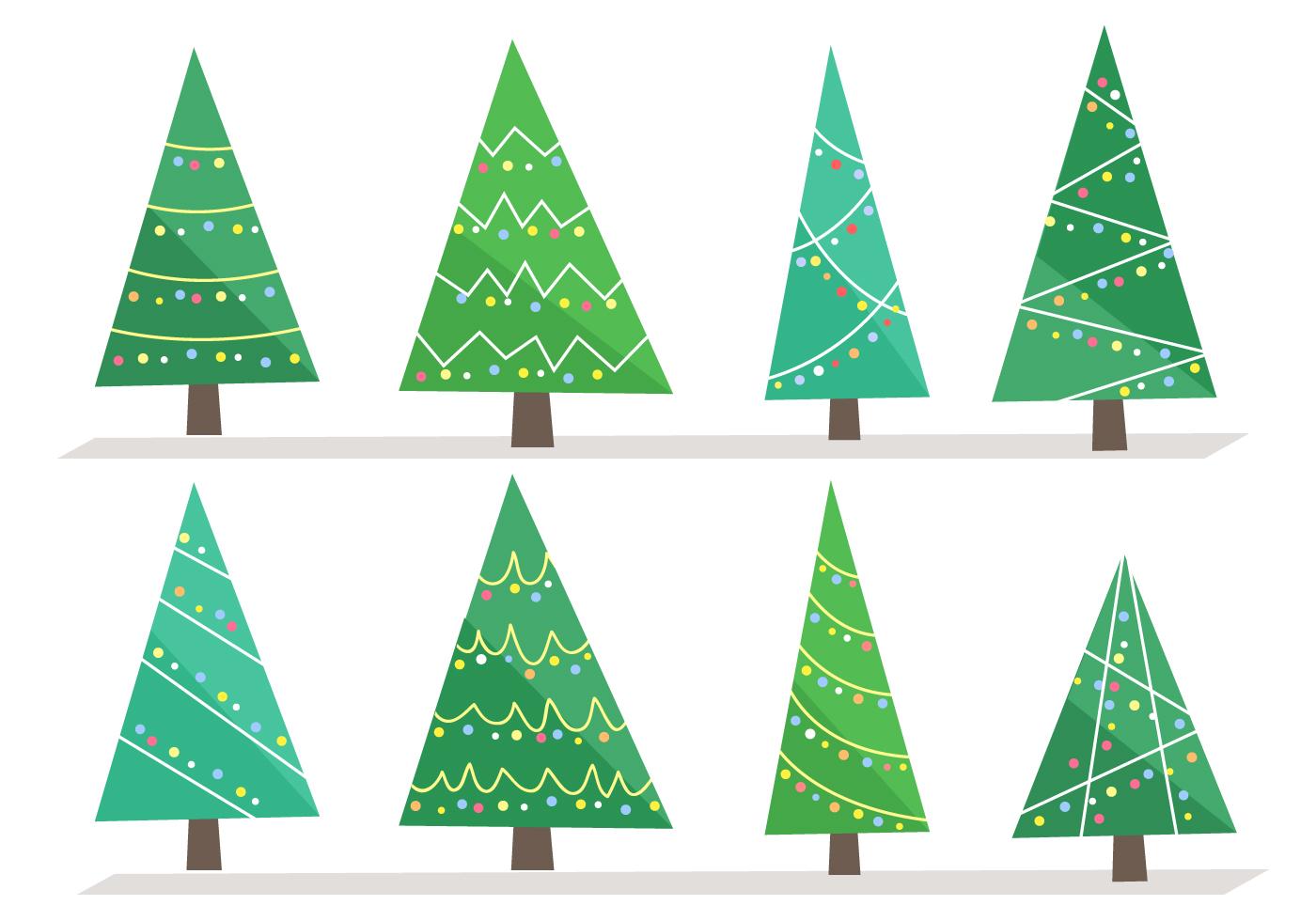 Free Christmas Tree Vector - Download Free Vectors ...