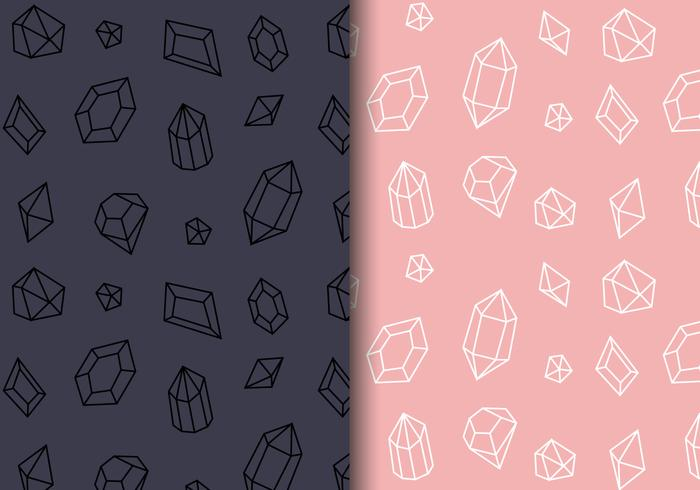 Free Patterns Gems Vector