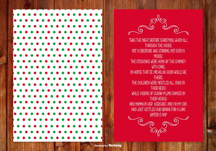 Christmas Poem Card