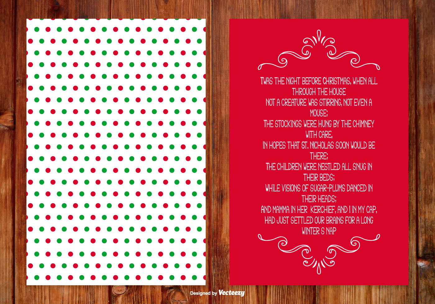 Christmas Poem Card - Download Free