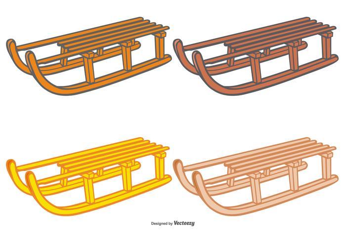Toboggan Vector Set