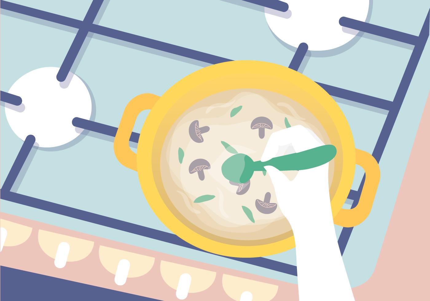 Cooking Illustration Vector Download Free Vectors