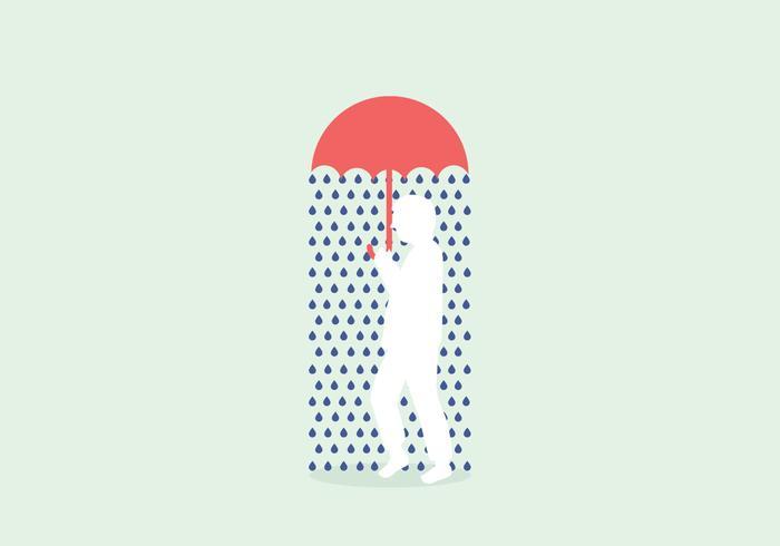 Rainy Illustration Vector