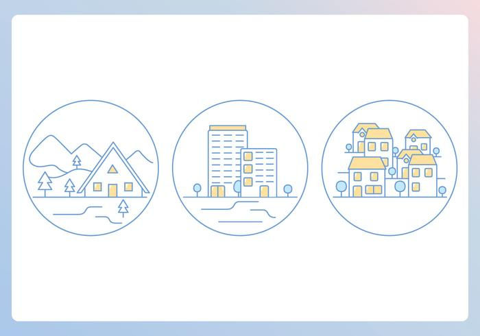 Home Outline Icons