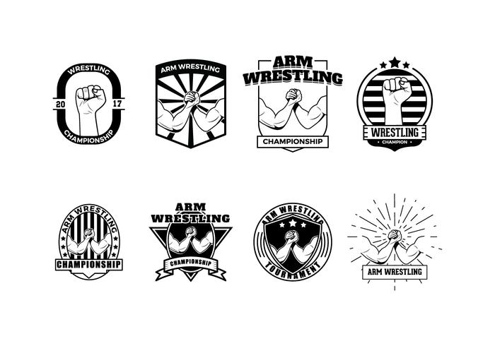 Free Wrestling Badge