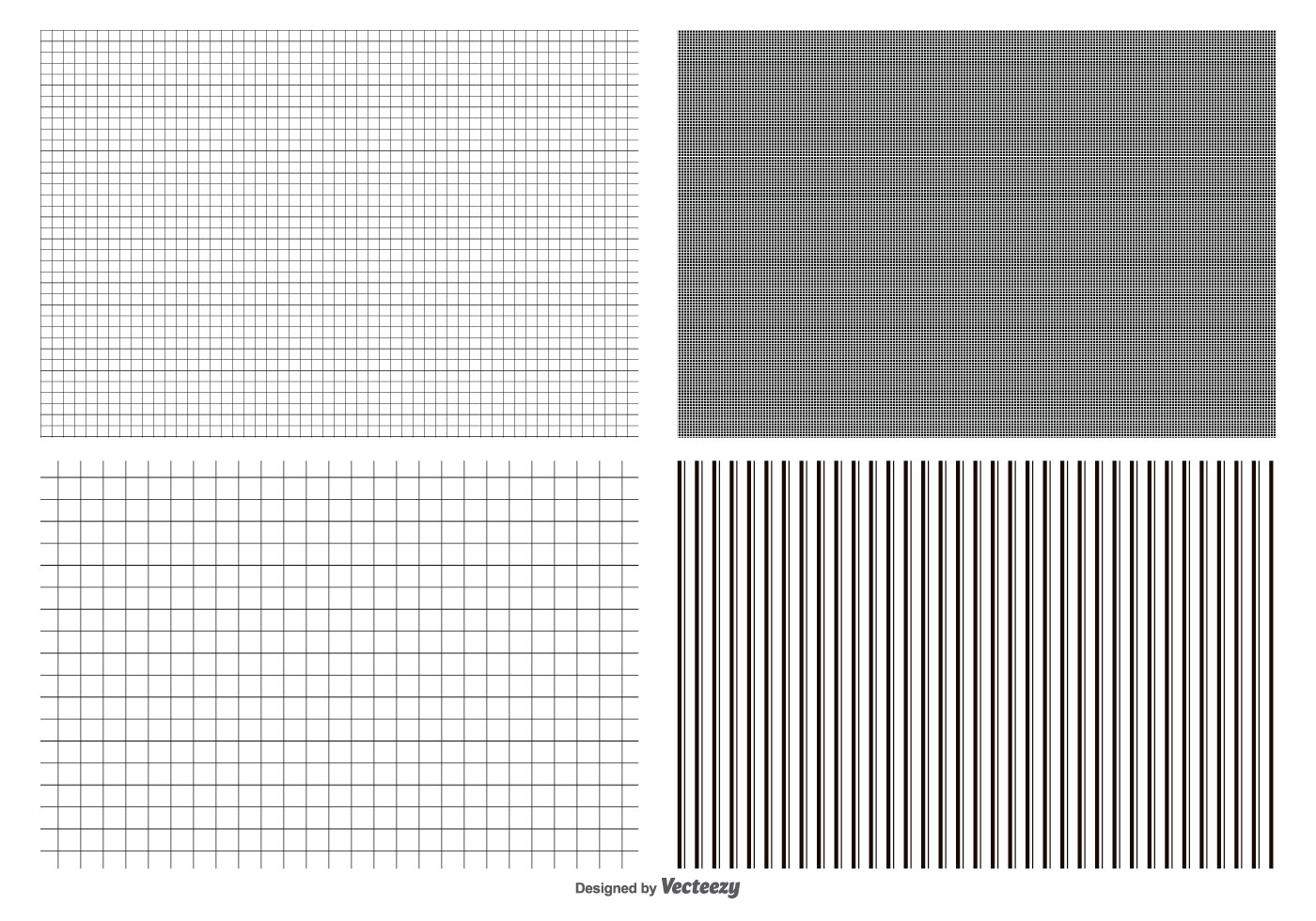Seamless Grid Pattern Collection - Download Free Vector Art, Stock ...